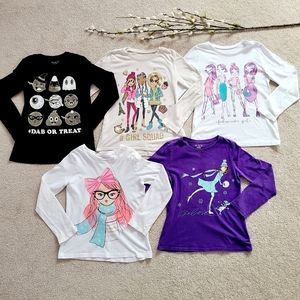 Children's Place Lot 1 of Graphic Long Sleeve Tops